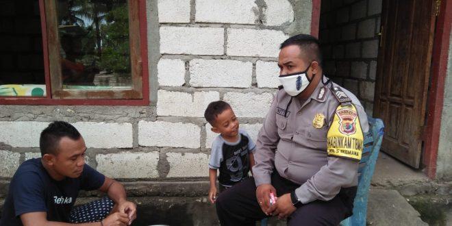 Pencegahan Virus Corona, Bhabinkamtibmas Kelurahan Sikumana Beri Himbauan Kepada Warga Binaan Agar Hidup Sehat